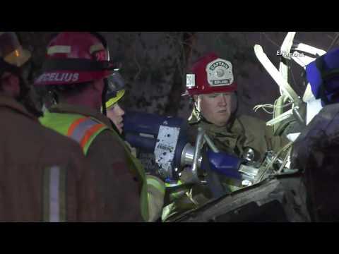 Redlands: Fatal Over the Side Crash on the I-10 Westbound