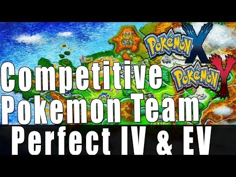 Pokemon X and Y - My Competitive Team [Perfect IV & EV]