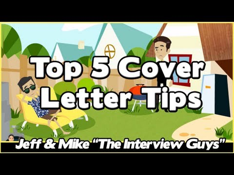 How To Write A Cover Letter - Top 5 Cover Letter Tips