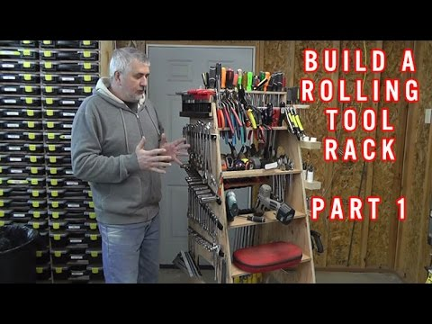 Build A Rolling Tool Rack Part 1