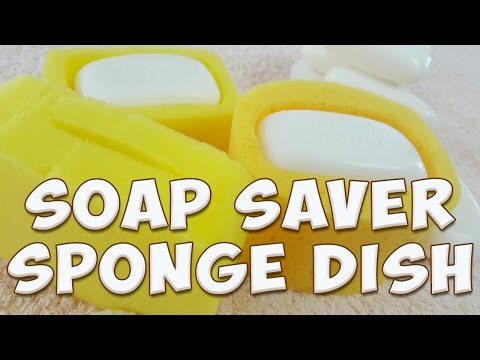 soap saver sponge dish