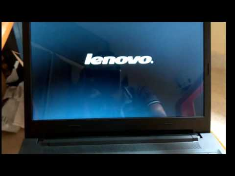 LENOVO: How To Enter BIOS Mode and Change Boot Device