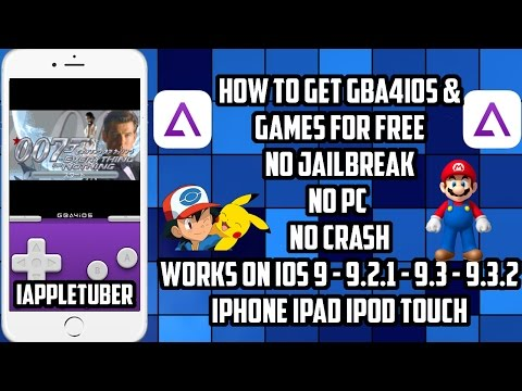 How To Get GBA4iOS Emulator & Games For FREE on iOS 9 - 9.2.1 - 9.3.2 ( No JB/PC ) iPhone,iPad,iPod