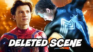 Download Avengers Infinity War Spider-Man Black Suit Deleted Scene Explained Video