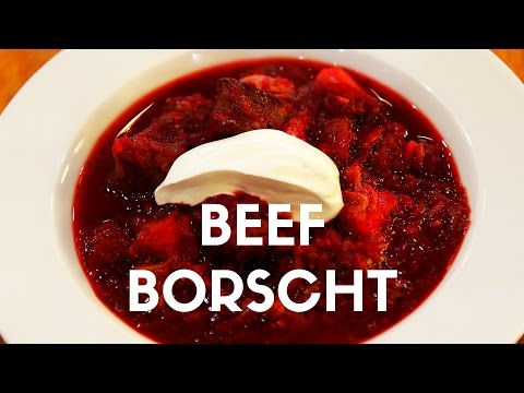 Beef Borscht Recipe