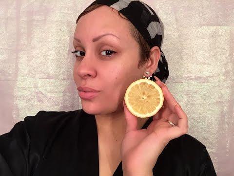 DIY Lemon & Sugar Face Scrub