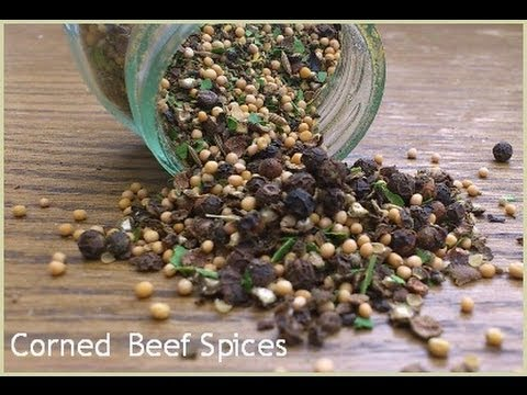How to Make Corned Beef Spices For Corning Beef the Traditional Way