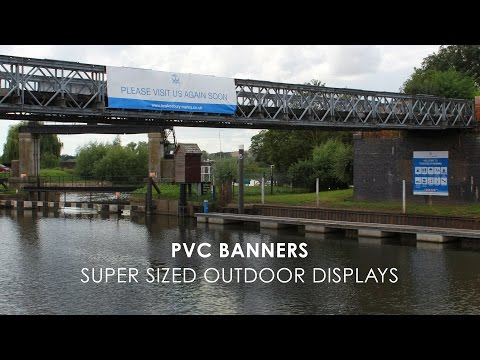 Printing Super-sized PVC Banners