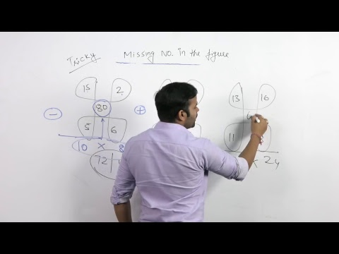 SSC CGL |Missing number in the figure| Reasoning| Sachin sir