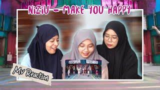 NiZiU - MAKE YOU HAPPY MV REACTION!!!