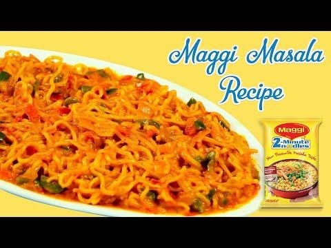 5 Minutes Maggi Recipe Spicy Maggi Masala Recipe  Maggi Masala Noodles Recipe In Hindi