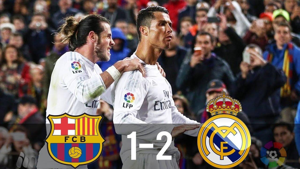 Barcelona vs Real Madrid 1-2 - All Goals & Extended Highlights - La Liga 02/04/2016 UHD