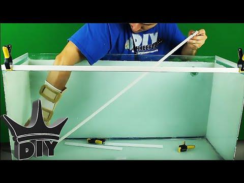 Make your own aquarium trim!