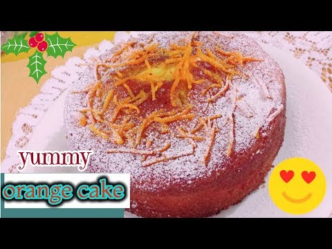 how to make yummy ORANGE CAKE recipe in urdu