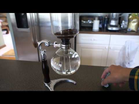Simple: Hand boiler and Vacuum coffee brewer