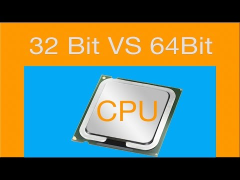 32 Bit VS 64 Bit What is The difference?