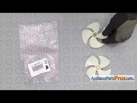 Refrigerator Evaporator Motor Fan Blade (Part #DA31-00124A) - How To Replace