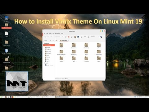 How To Install Vimix Theme on Linux Mint 19