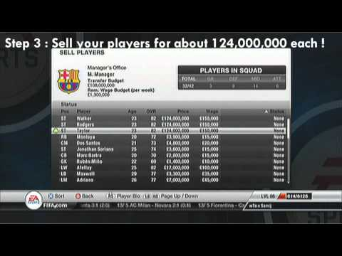 Fifa 12 | Career Mode | How To Get Unlimited Money