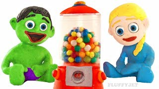 Bubble Gumball Machine Candy Dispenser bubble gum Family Fun playtime kids Video