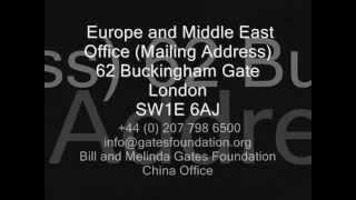 Bill Gates Contact Details
