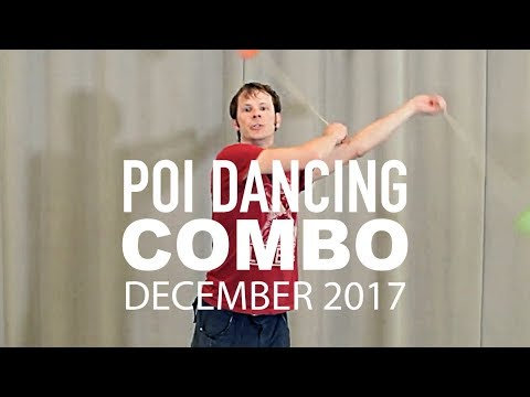 Poi Spinning Combo Choreography: 2017 Routine