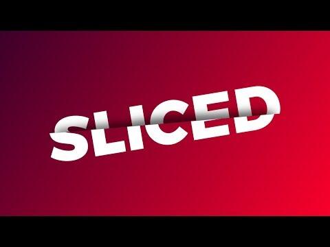 GIMP Tutorial: Sliced Text Effect