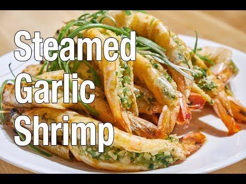 Steamed Garlic Shrimp | Belly on a Budget | Episode 7