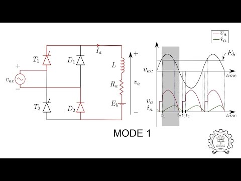 Speed Control of DC Motor using Semi Controlled Converter (Basics of DC Motor: Part 2)
