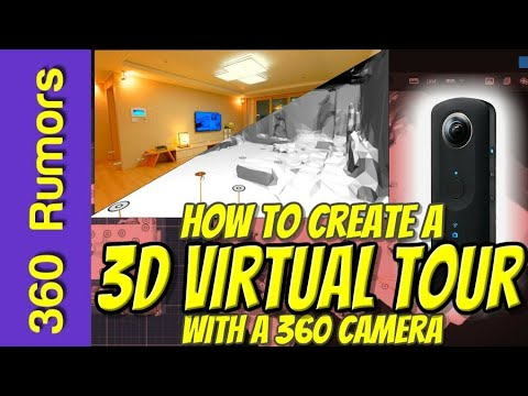 Best virtual tour software: how to create Free Virtual Tours in 3D with any 360 camera using Cupix