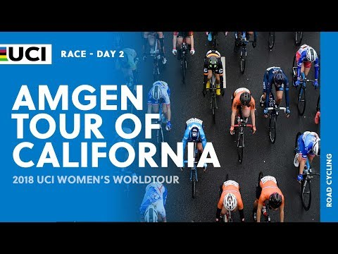 2018 UCI Women's WorldTour – AMGEN Tour of California Stage 2  – Highlights