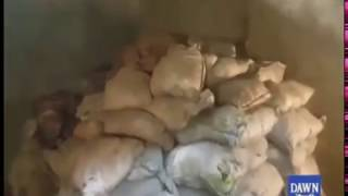 Explosives  found in Mandi Bahauddin