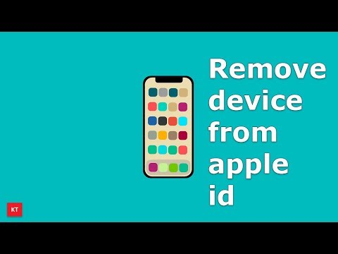 How to remove devices associated with an apple id
