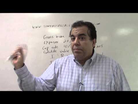 Florida Real Estate Exam Prep Math 17 IRV the Appraiser and IRV the Banker