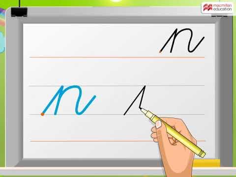 Cursive Writing | Small Letter 'n' | Macmillan Education India