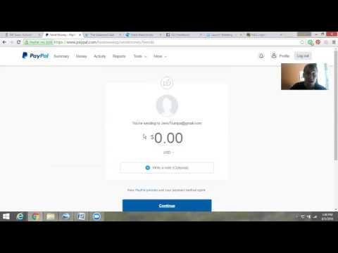 Paying someone via Paypal avoiding extra fees