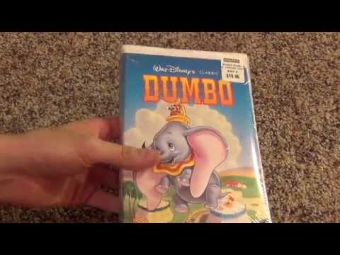 Walt Disney's Classic Dumbo VHS Unboxing - A Brand New VHS Tape in 2014!