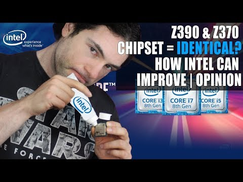 Z390 & Z370 Chipset Rumored to be IDENTICAL | How Does Intel Need to Change