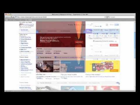 Book flights on malaysiaairlines.com website