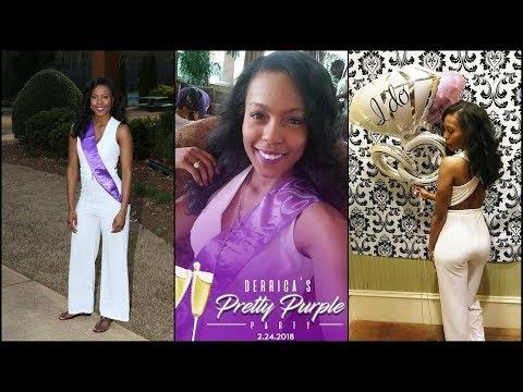 My Bridal Shower - Derri's Pretty Purple Party!