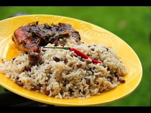 Dry Pigeon Peas And Rice (vegetarian) #TastyTuesdays | CaribbeanPot.com