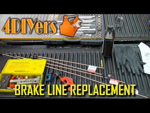 DIY: How to Replace Brake Lines
