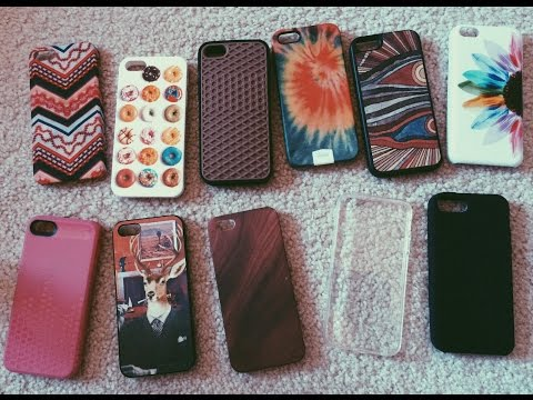 iPhone 5s case collection!