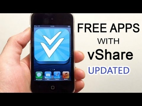How to get vShare (Free Apps) on Your iPhone *Updated*