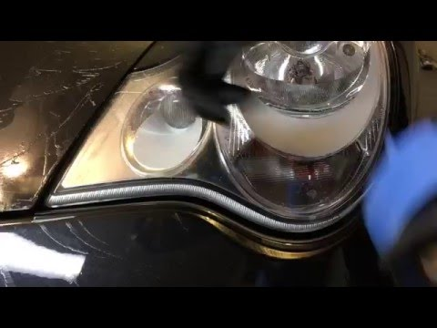 Removing Sticky Residue From Headlights