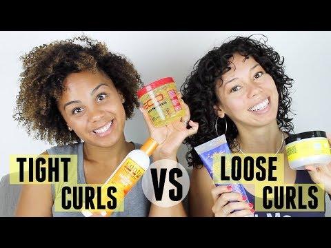 HAIR ROUTINE SWAP | TIGHT CURLS VS. LOOSE CURLS ft colbaleet