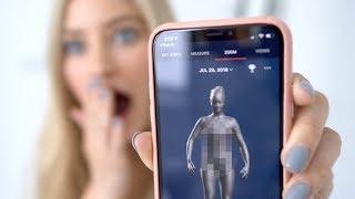 Naked 3D Body Scanner!