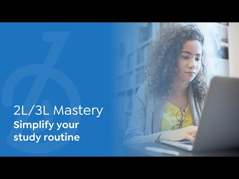 BARBRI 2L/3L Mastery | Simplify your study routine | Maintain GPA, class rank (employers still care)