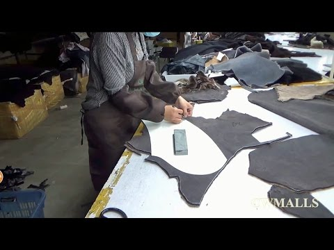 How to make Shearling Jacket - www.cwmalls.com