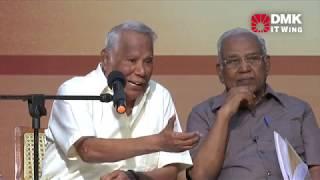 Educators pay Homage to Kalaignar - Dr. Avvai Natarajan, Former Vice-Chancellor of Tamil University